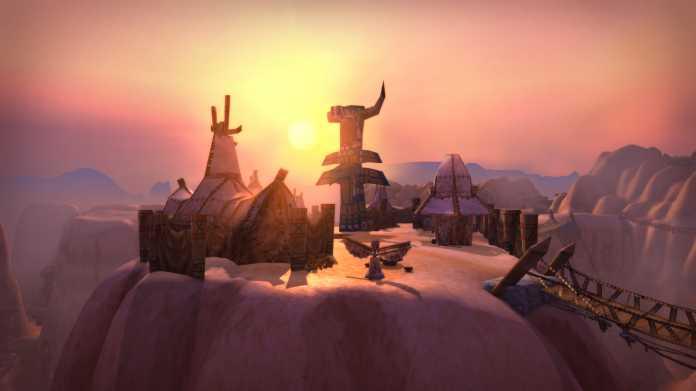Ob es so leer wie auf dem Screenshot bleiben wird, ist unklar. Blizzard hat keine Erwartungen hinsichtlich der Spielerzahl geäußert, kurzerhand aber die Zahl der verfügbaren Realm erhöht.