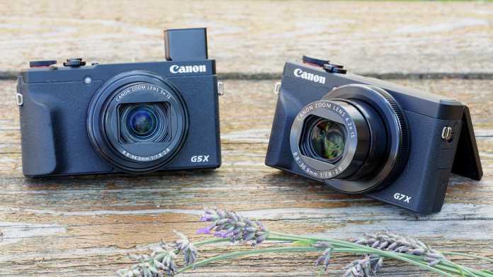 Das können kompakte Allrounder: Canons G5 X Mark II und G7 X Mark III im Test