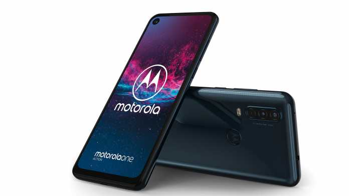 Motorola One Action: Smartphone mit Ultra-Weitwinkel-Action-Cam