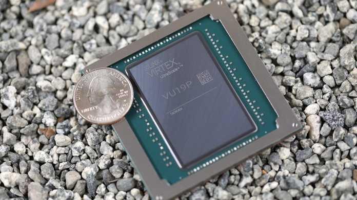 35 Milliarden Transistoren: Riesen-Chip Xilinx VU19P