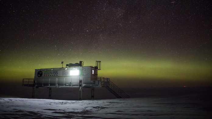 In der langen Nacht am Südpol