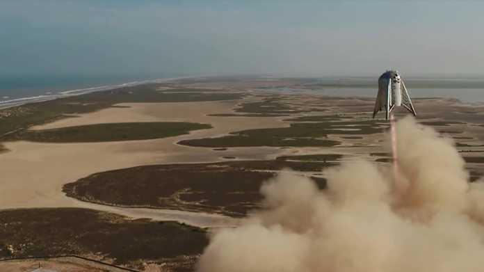 SpaceX: Starhopper erreicht bei Flugtest 150 Meter Höhe