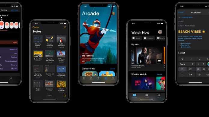 iOS 13: Apple muss Funktionen aufschieben