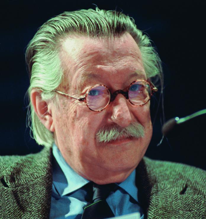 """ELIZAs """"Vater"""": Joseph Weizenbaum erschuf das Programm am MIT in den 1960er Jahren."""
