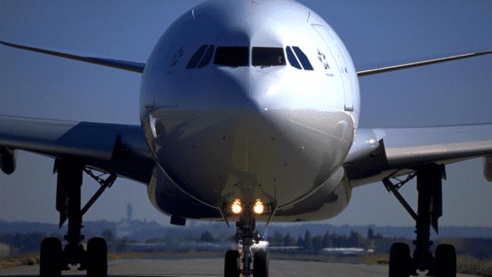 Airbus von vorne