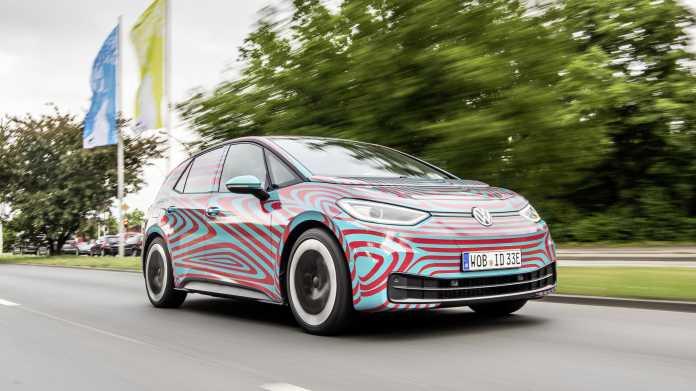 VW stellt ID.3 offiziell auf der IAA vor