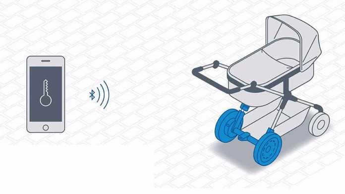 eStroller: Bosch elektrifiziert und vernetzt den Kinderwagen