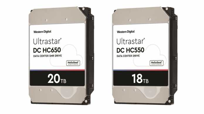 Western Digital: 18- und 20-TByte-Festplatten kommen 2020 mit Mikrowellentechnik