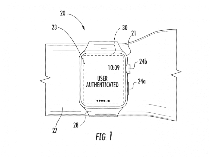 "Nutzerauthentifizierung per Hauptstruktur –Apple forscht an ""Wrist ID""."