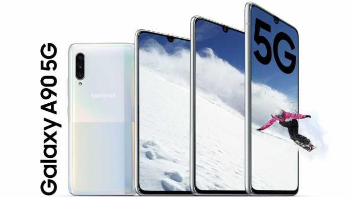 Samsung Galaxy A90 5G: High-End-Prozessor und 5G-Unterstützung für 750 Euro