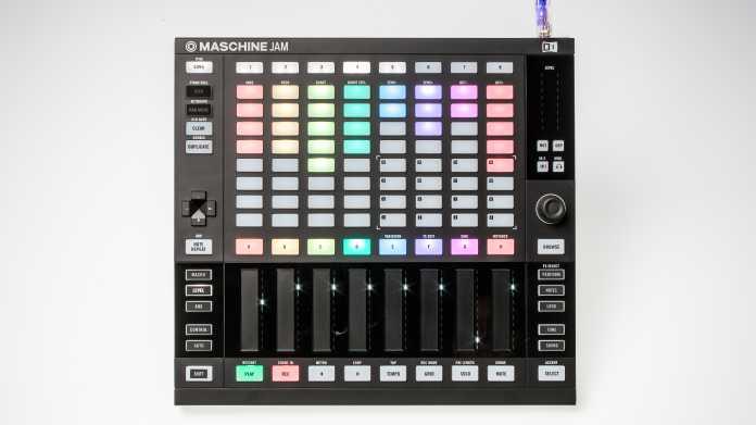 Maschine Jam: Native Instruments neuer Musik-Controller ausprobiert (mit Hands-on-Video)
