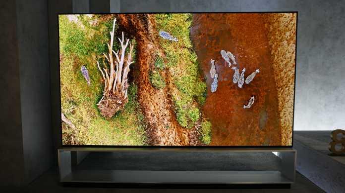 Das Jahr der 8K-TVs? Nicht wirklich!