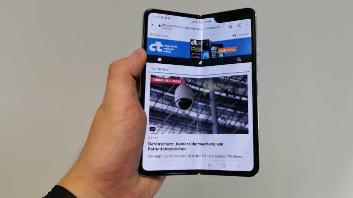 Neuer Falter: Samsung Galaxy Fold 5G im Hands-on