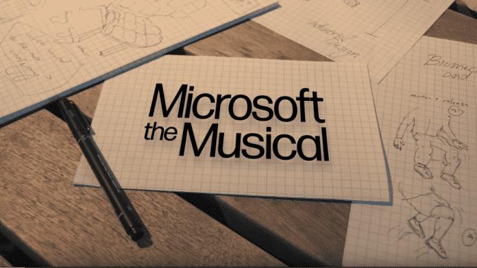 Microsoft, das Musical: Mitarbeiter tanzen Firmengeschichte