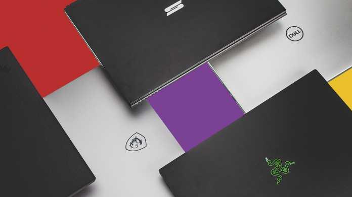 Notebooks mit farbstarken 4K-Bildschirmen von leicht bis potent