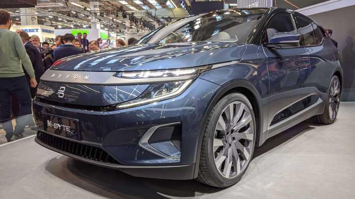 IAA: Byton zeigt Serienmodell seines E-SUV M-Byte
