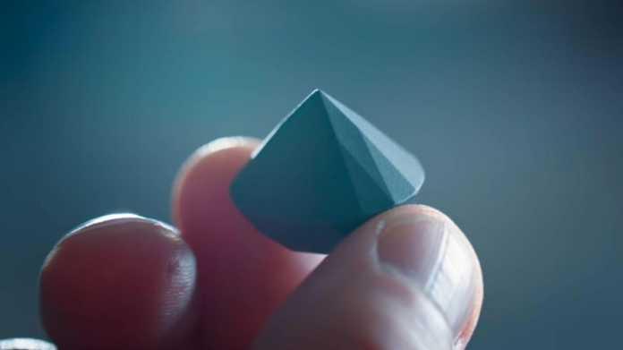 Gedruckte Diamanten