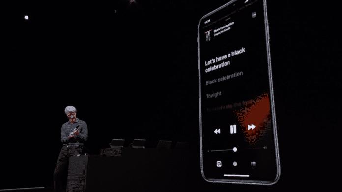 iOS 13 Musik Visualizer