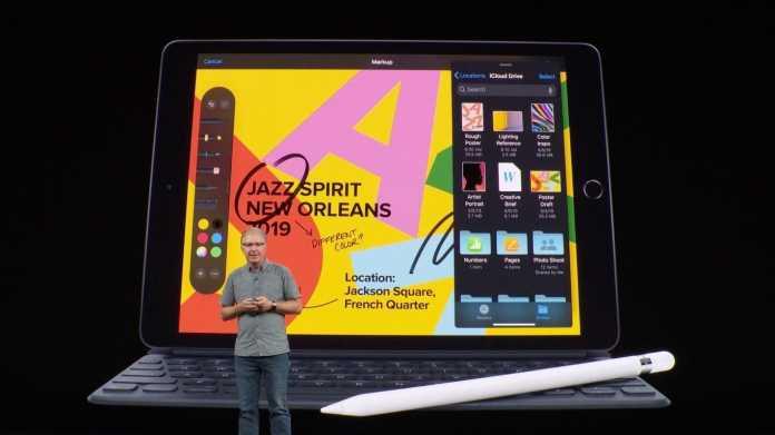 Neues 10,2-Zoll-iPad für Einsteiger