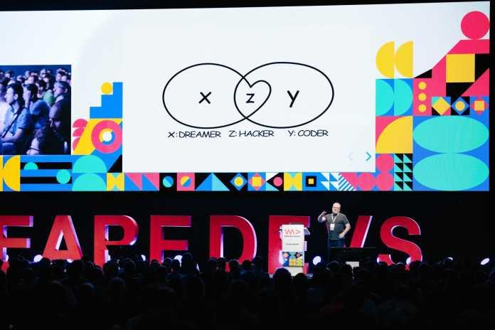 PHP-Erfinder Rasmus Lerdorf ist ein wiederholt gern gesehener Gast auf den WeAreDevelopers-Konferenzen.