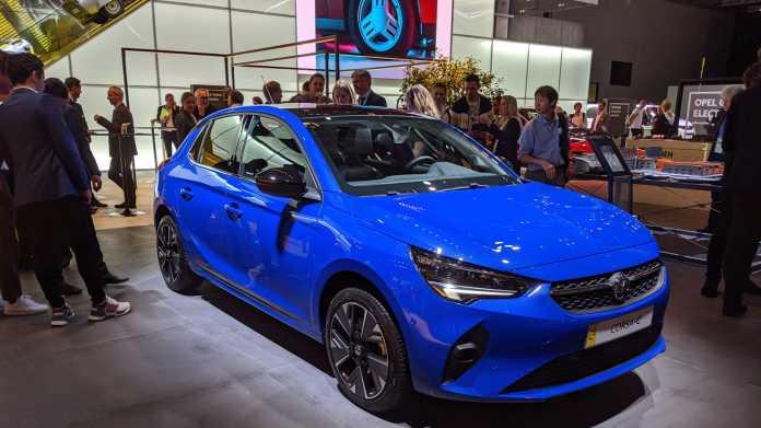 IAA: Opel lässt den Corsa stromern