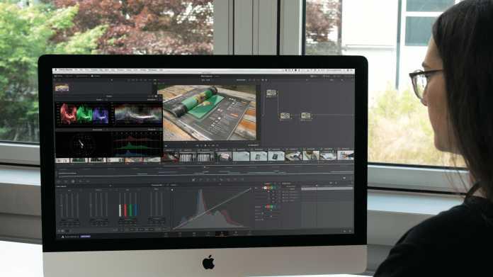 Filmreif: Videos schneiden mit DaVinci Resolve