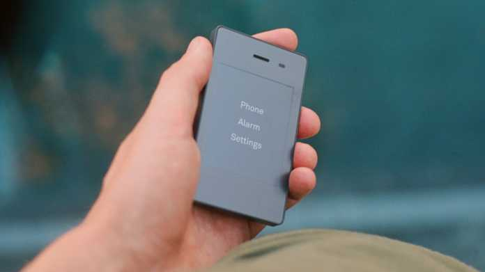 Light Phone 2: Mini-Handy mit E-Ink-Diplay