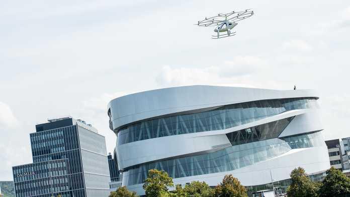 Dem Stau entfliegen - Volocopter hebt über Stuttgart ab