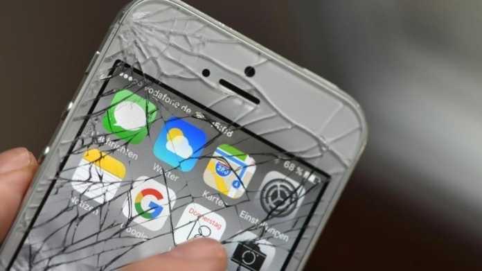 Defektes iPhone