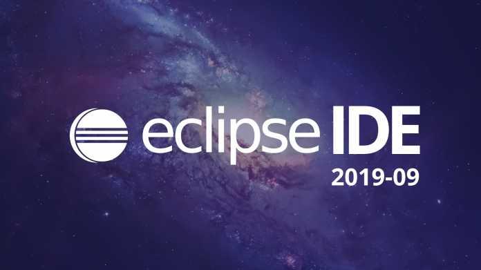 Entwicklungsumgebung Eclipse in neuer Version 2019-09