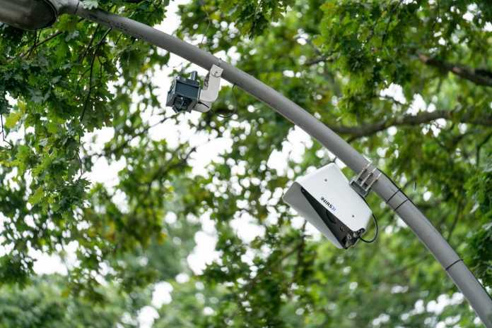 An der Strecke wurden zahlreiche Sensoren installiert.