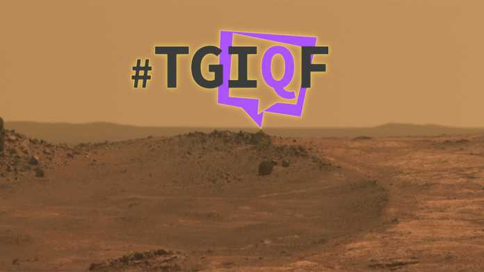 #TGIQF - Das Mars-Quiz