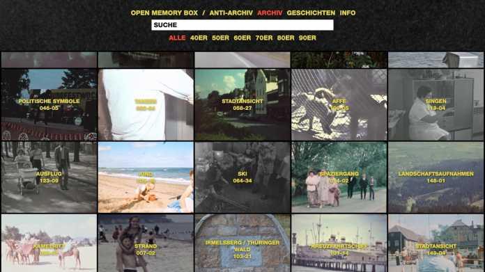 Open Memory Box: Digitalsammlung zeigt DDR-Alltag auf Schmalfilm
