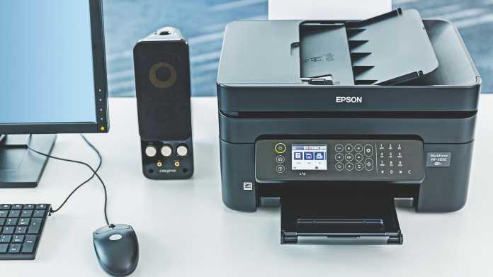 Kompakte Multifunktionsgeräte mit Fax