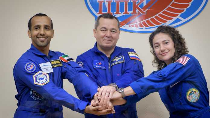 Arabisch im Weltall – Raumschiff bringt Verstärkung zur ISS