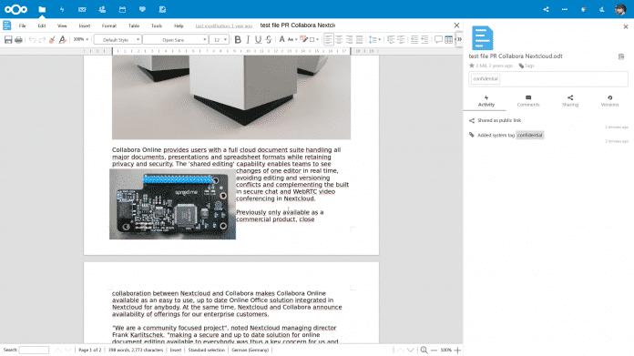 Nextcloud 17 mit verbesserten Sicherheitsfunktionen