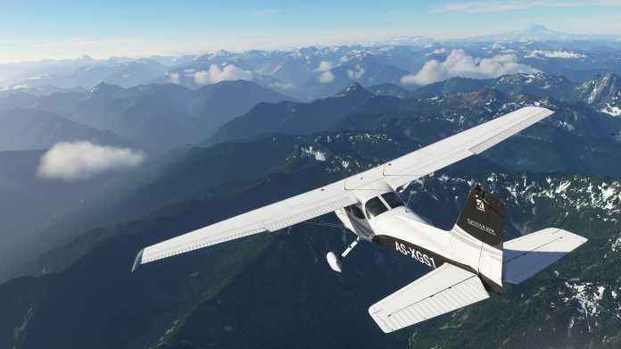 Flight Simulator 2020: Mit Daten von 20.000 Blu-rays eine realistische Welt