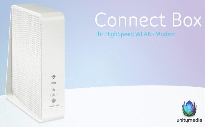 Die Connect Box von Unitymedia steht in vielen Haushalten.