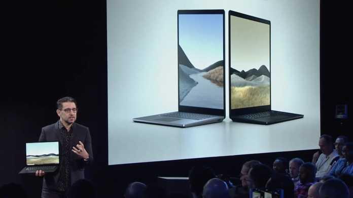 Surface Laptop 3 & Surface Pro 7 mit neuen CPUs und USB-C vorgestellt