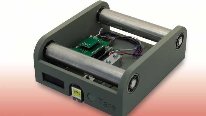 Nie wieder 3D-Fehldrucke: Filamentwaage schlägt Alarm