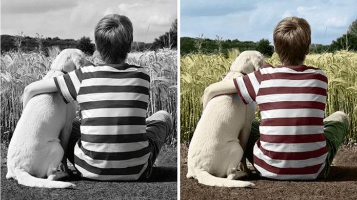 Künstliche Intelligenz hilft beim Colorieren von Schwarzweißfotos.
