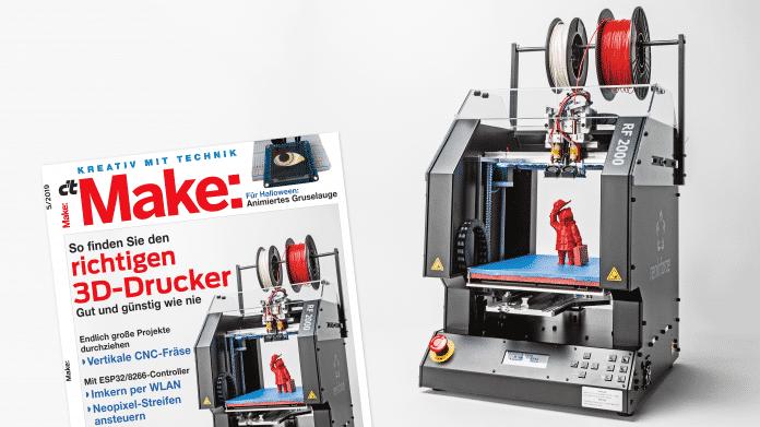 3D-Druck: Den richtigen 3D-Drucker für das eigene Projekt finden