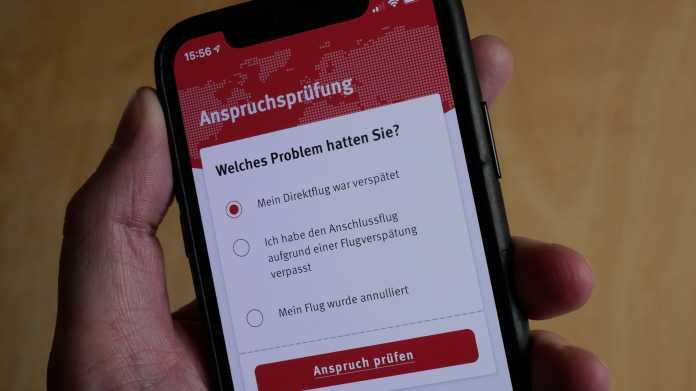 """""""Flugärger""""-App hilft beim Einfordern von Fluggastrechten"""