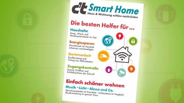 Sonderheft c't Smart Home jetzt vorbestellbar