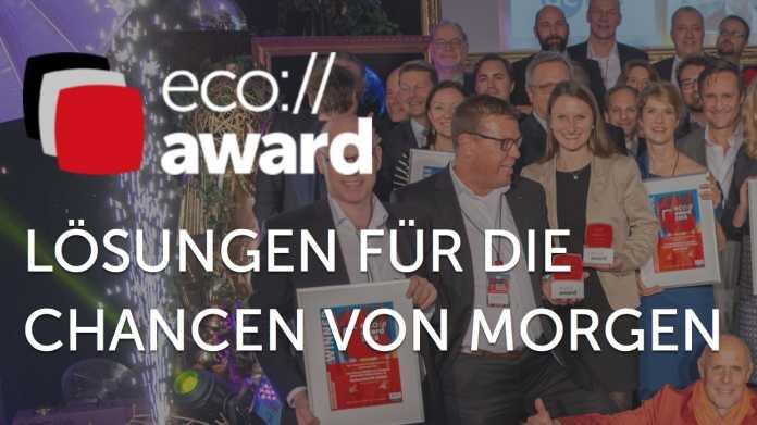 eco://award: Lösungen für die Chancen von morgen