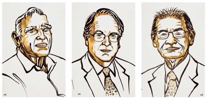 John B. Goodenough, M. Stanley Whittingham und Akira Yoshino