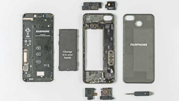 Das nachhaltige Smartphone Fairphone 3