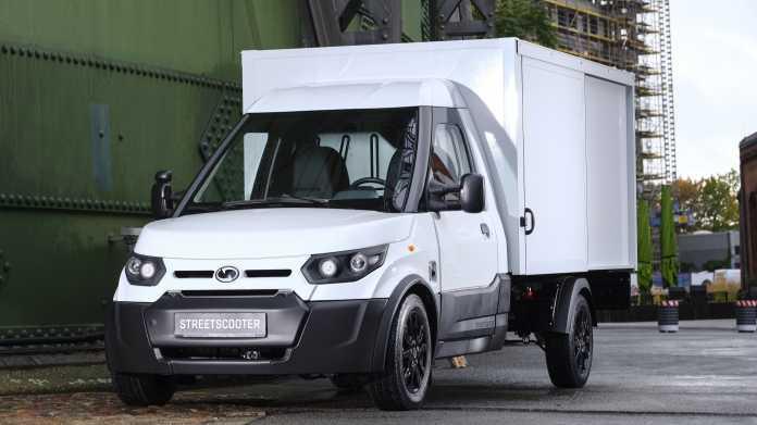 Elektromobilität: Neuer Streetscooter der Post fährt und lädt schneller