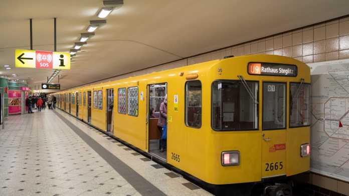 BVG testet Erkennungssystem für U-Bahn-Auslastung