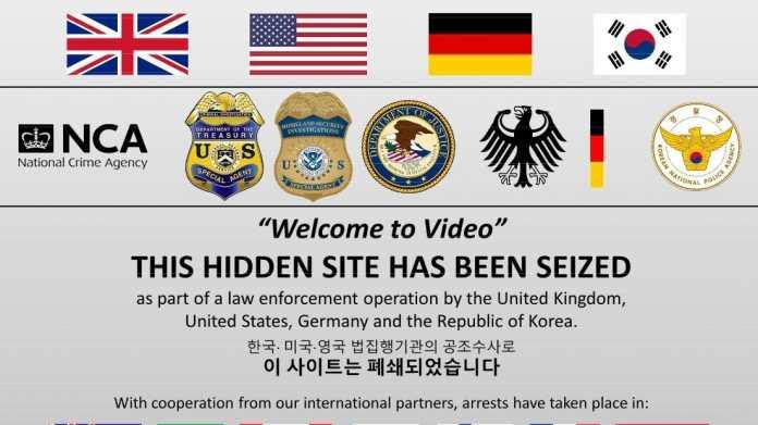 Darknet-Plattform: Ermittler nehmen 337 Nutzer von Kinderpornos im fest